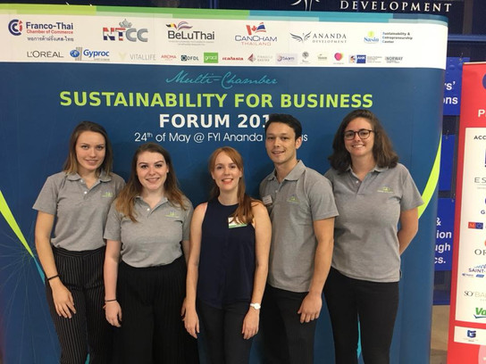 Team Green Building Consulting & Engineering @ the Sustainability for Business Forum 2018