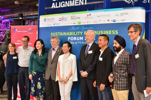 Key organizers, speakers, partners @ the Sustainability for Business Forum 2018
