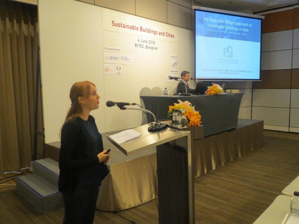 Guest speaker @ ASEAN Sustainable Energy Week