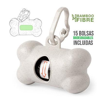 Dispensador Bolsas Biodegradables Mascotas