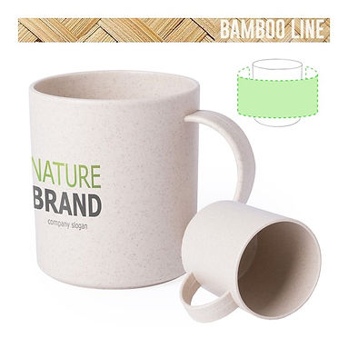 Taza Bamboo y PP