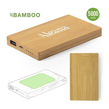 Power Bank Bamboo