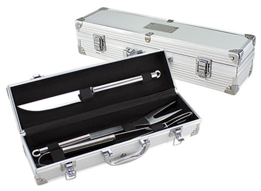 Set BBQ caja metálica