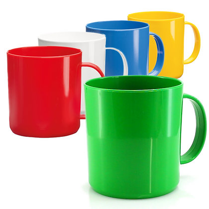 Tazas Plasticas de Colores