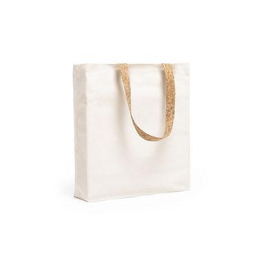 Bolsa de algodon asas de corcho