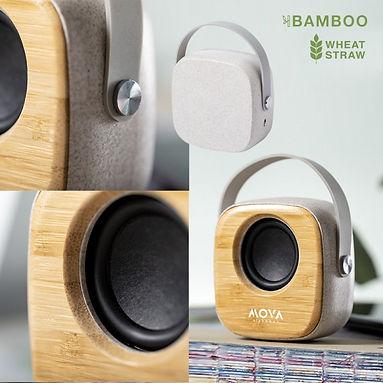 Parlante Bamboo Bluetooth