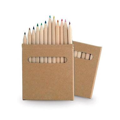 Caja lapices 12 unidades