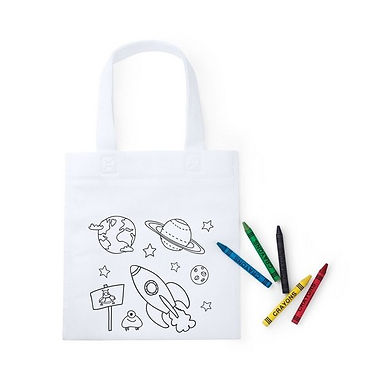 Bolsa Infantil para colorear TNT