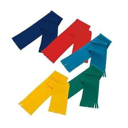 Bufandas polar para niños.