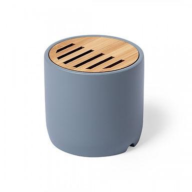 Parlante Bluetooth Con bamboo
