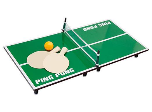 Mini Ping Pong de Madera