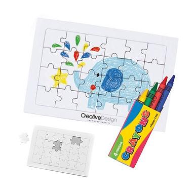 Puzzle coloreable