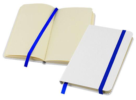 Libretas Blancas 14*9 Elásticos de colores