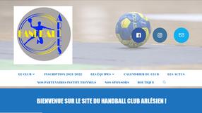 Un coup de neuf pour le site du HBC Arles !