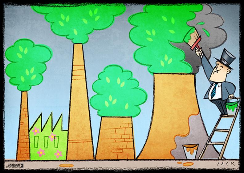 greenwashing vs ecocommunication