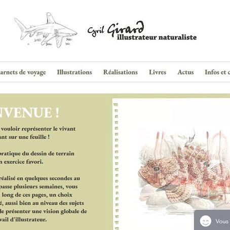 Cyril Girard a maintenant son site et Portfolio en ligne !