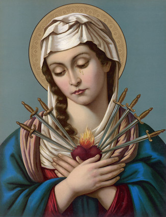 The Month of September - In Honour of Our Lady of Sorrows