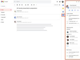 Vos contacts Google bientôt plus facilement accessibles dans Gmail