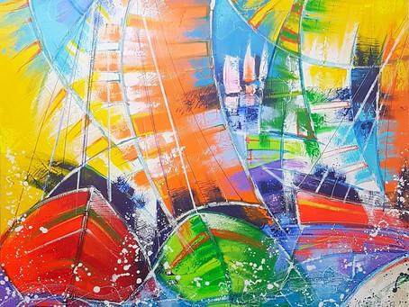 Je vous souhaite une belle année paisible et libre dans la couleur, la musique, la vie en somme...