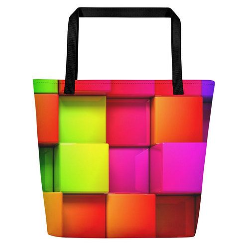 Color Blast Beach Bag