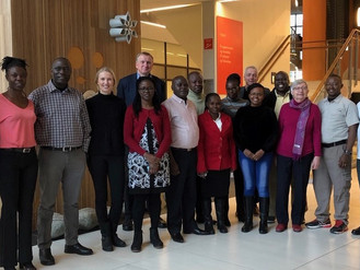 H&G sharing experience with Kenyan officials