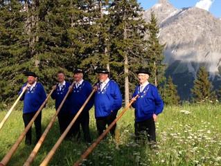 Besuch der Alphörner