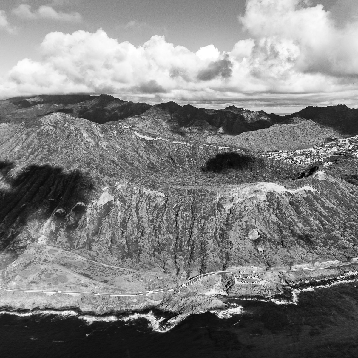 Koko Crater B&W