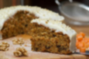 Real Patisserie English cakes - Carrot cake