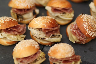 Real Patisserie Party Food - Mini brioche buns