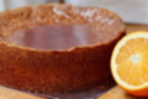 Real Patisserie English cakes - Tunisian orange cake