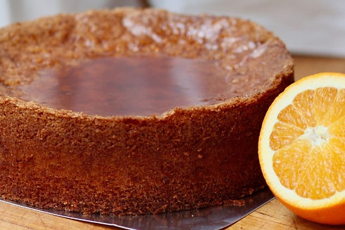 Real Patisserie English cakes - Tunisian orange cake