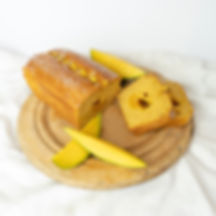 Real Patisserie English cakes - Mango & ginger loaf