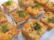 Real Patisserie Party Food - Mini croques