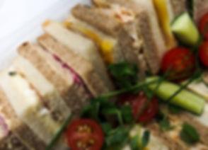 Real Patisserie Party Food - Sandwich platters