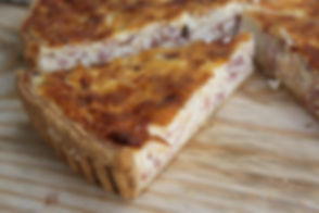 Real Patisserie Party Food - Large quiche