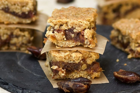 Real Patisserie English cakes - Date & orange flapjack