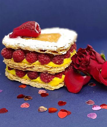 Raspberry & rose millefeuille.jpg