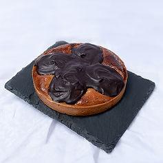 Pear & chocolate tart brighton hove