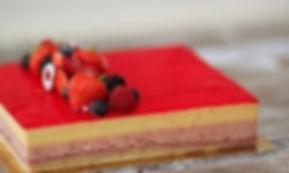 Real Patisserie - rectangular cakes