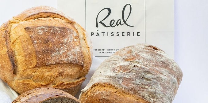Real Patisserie Brighton & Hove UK - home delivery