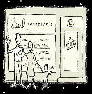 Real Patisserie - first shop in Trafalgar Street, Brighton