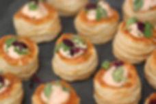 Real Patisserie Party Food - Mini bouchee a la reine