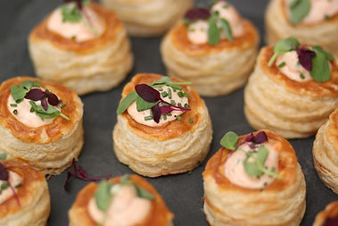 Real Patisserie Party Food - Mini bouchee a la reine