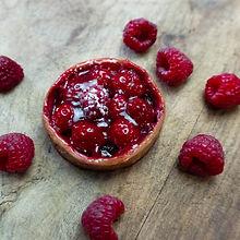 vegan raspberry tart brighton hove