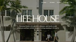 Life House Home Page