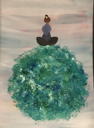 Meditating Mother