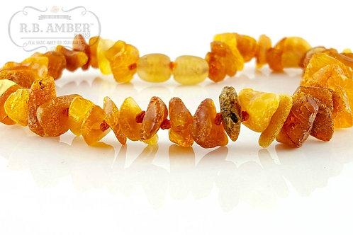 Pet Collar/ Necklace- Honey & Cognac Chips
