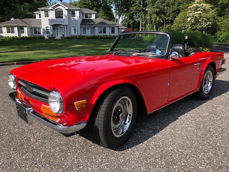 1972 Triumph TR 6