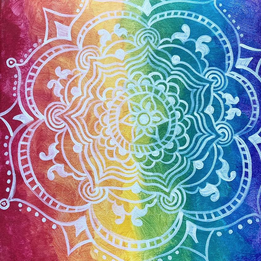 Paint & Meditate a Rainbow