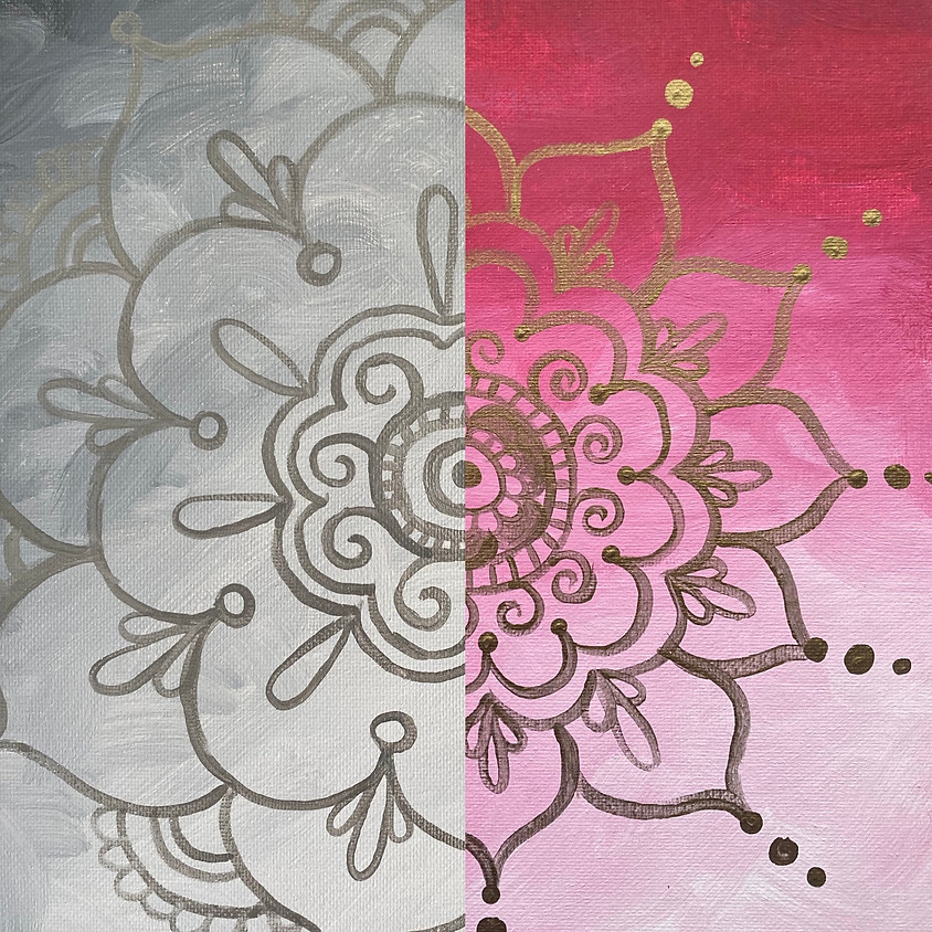 February Paint & Meditate